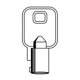 Tubular Key Blank