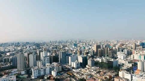 Lima en drone