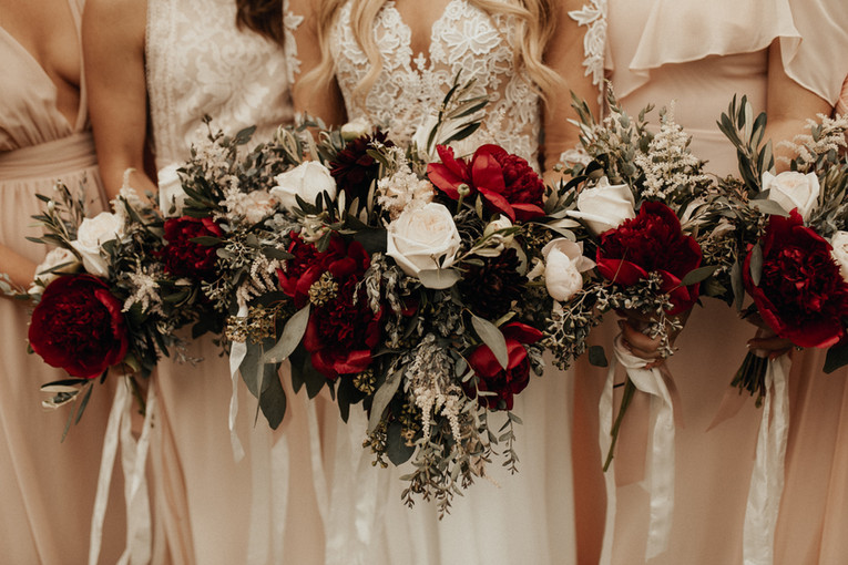 Bridal Party Florals by Naomi Anderson Events