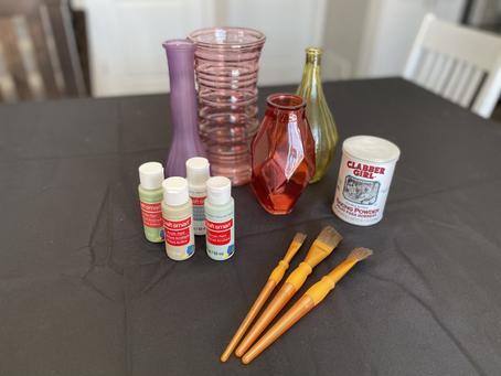 DIY Terracotta Vases