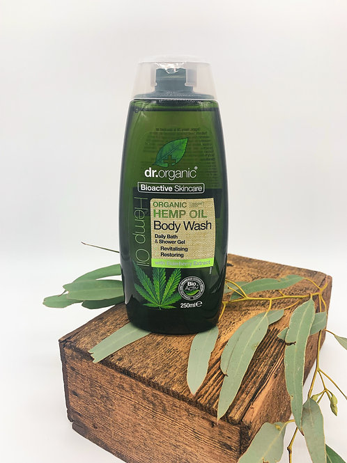 Dr Organic Hemp Body Wash 250ml