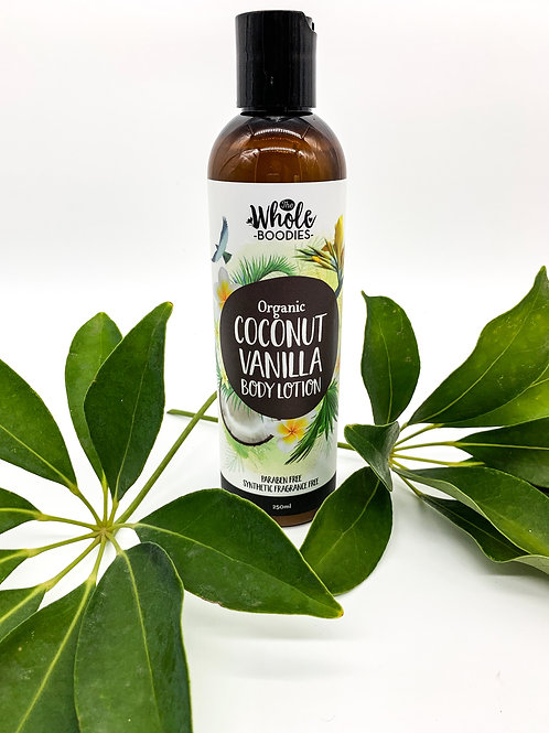 Coconut Vanilla Body Lotion 250ml