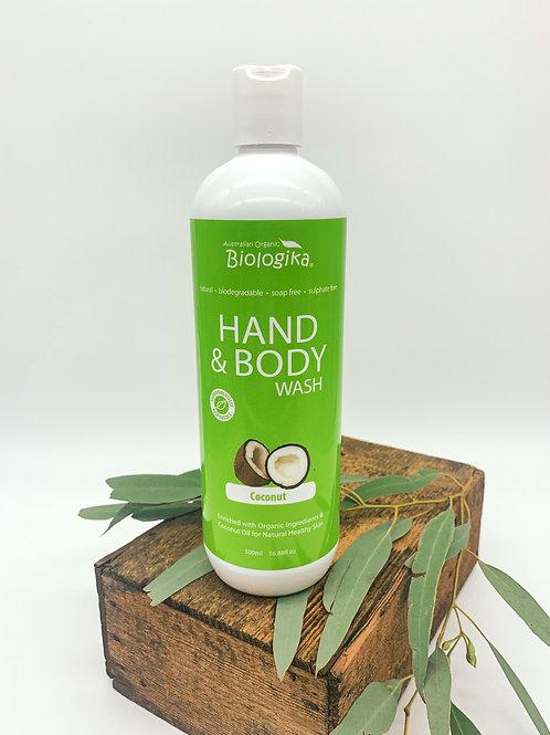 Biologika Coconut Hand & Body Wash