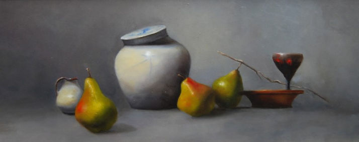 Asian Inspired Still Life by Materese Roche