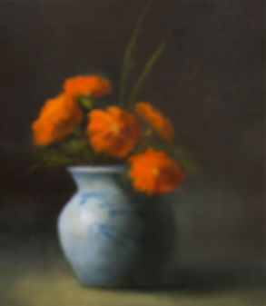 Marigolds by Materese Roche