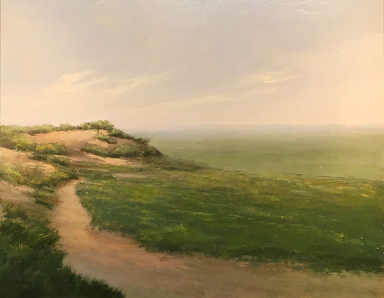 Materese Roche, The Path Less Traveled, Oil on Linen