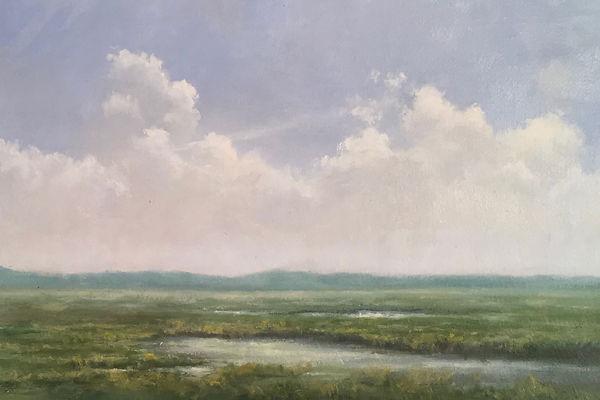 Materese Roche, Barnstable, Cape Cod, Oil on LInen