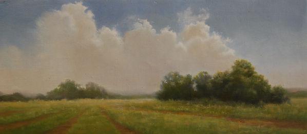Backlit Clouds on ByOak Farm