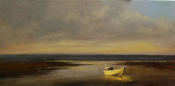 Morning on Cape Cod, Oil on Linen, Materese Roche