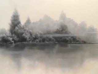 My Best Experience Painting a Commissioned Landscape.