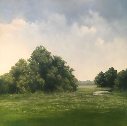 Materese Roche, Summer, Oil on Canvas