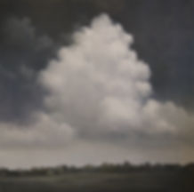 Thunderhead, Oil on Canvas, Materese Roc
