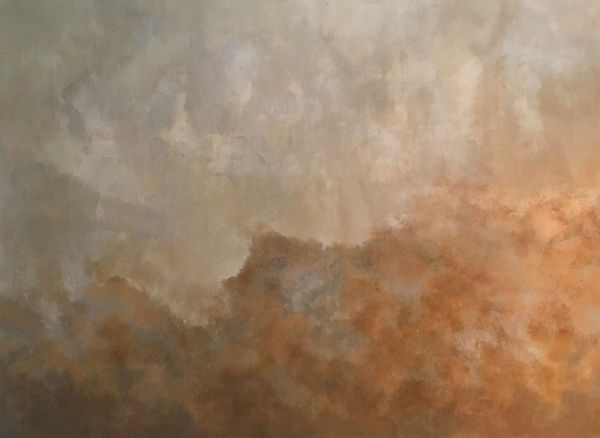 Neutral toned abstract painting