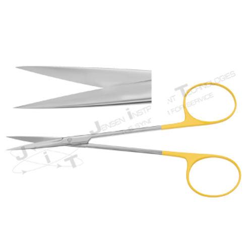 """Iris Gum Scissor - Length = 11.5 cm/ 4-1/2"""", Straight T/C"""