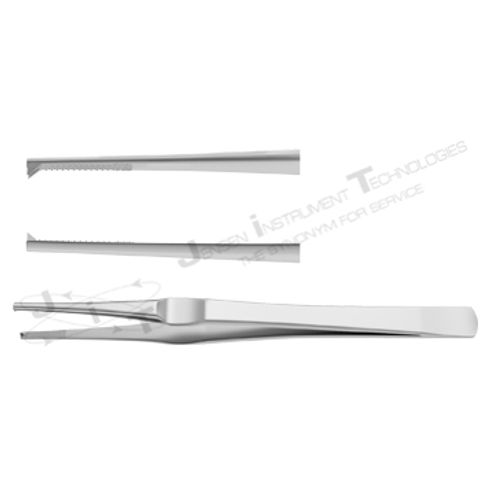"Lane Dressing & Tissue Forcep - Length = 15 cm / 6"", Teeth = 1:2"