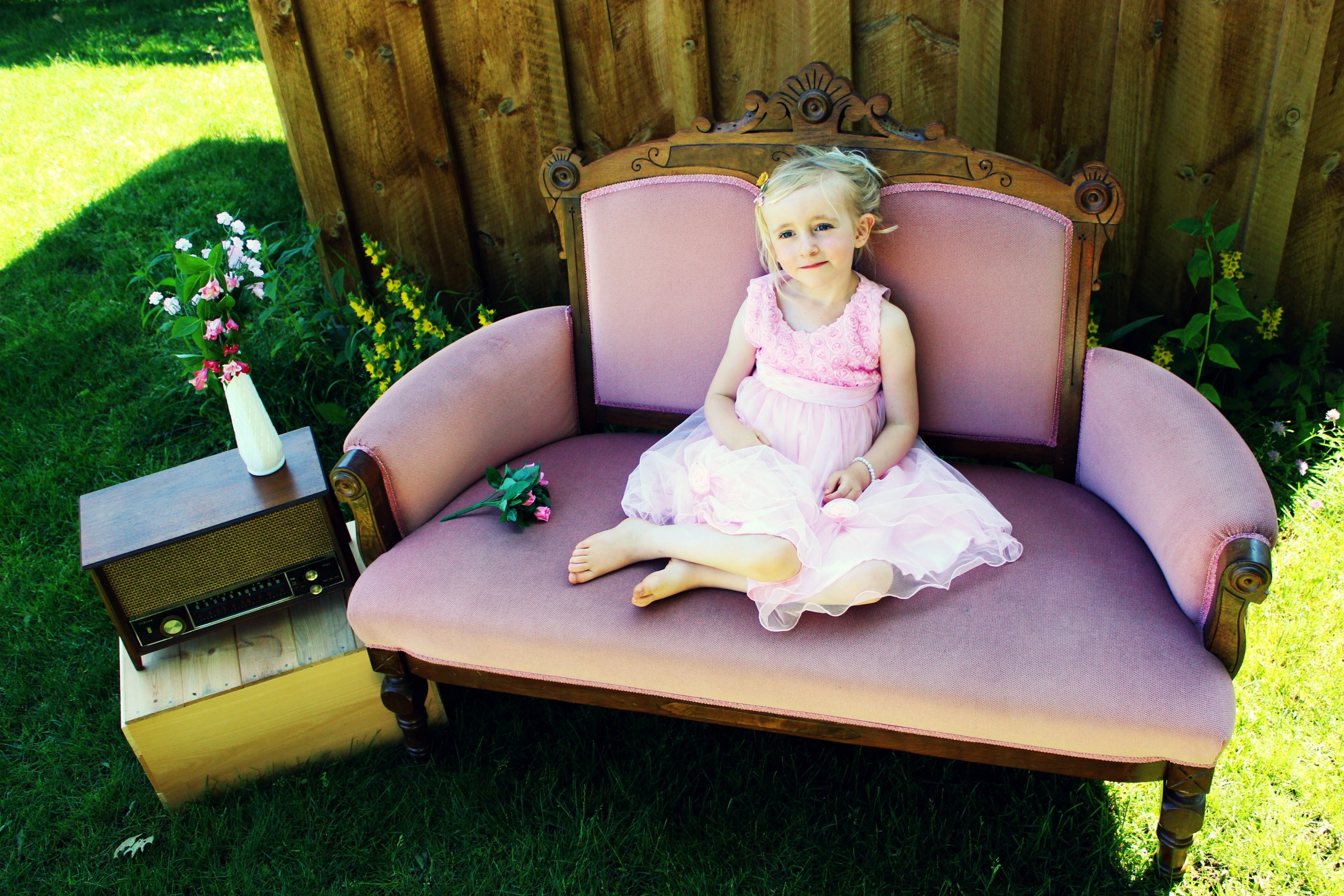 Settee For Portraits