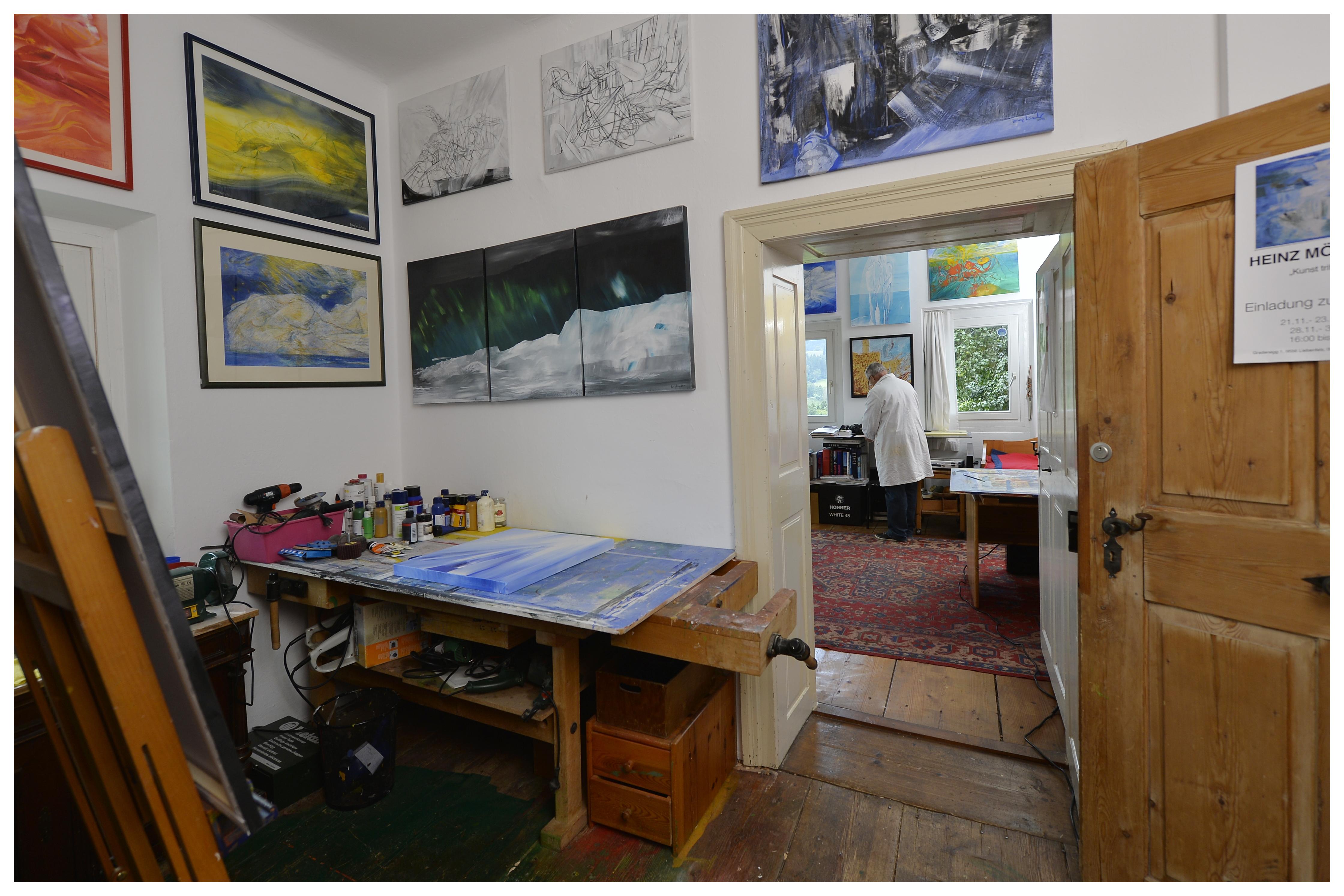 Bildhauer-Ateliere