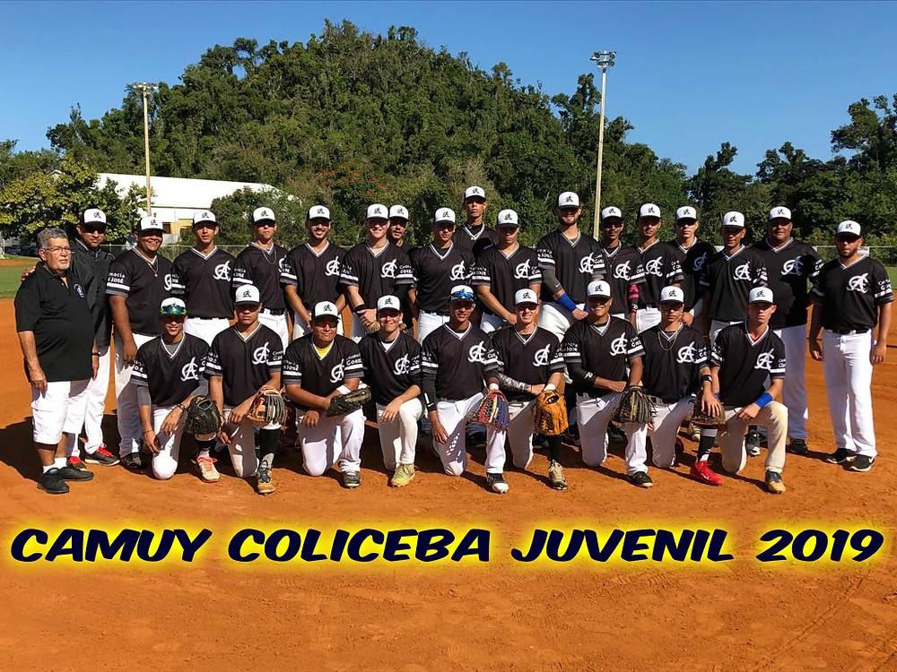 Equipo de Camuy COLICEBA Juvenil 2019