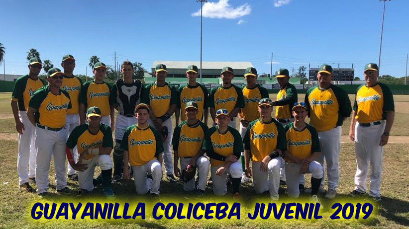 Equipo Guayanilla COLICEBA Juvenil 2019