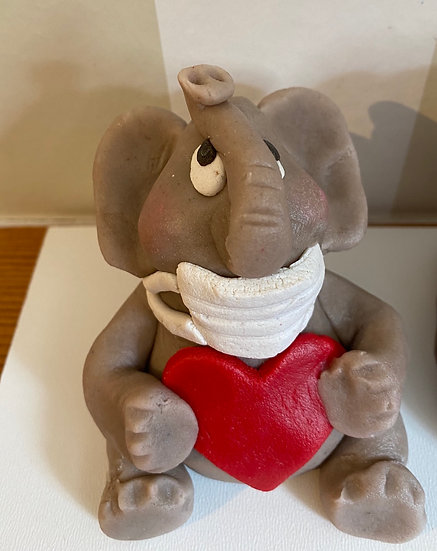 Mundschutz Elefant
