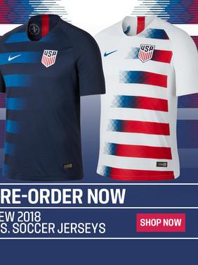 US Soccer Pre-Order