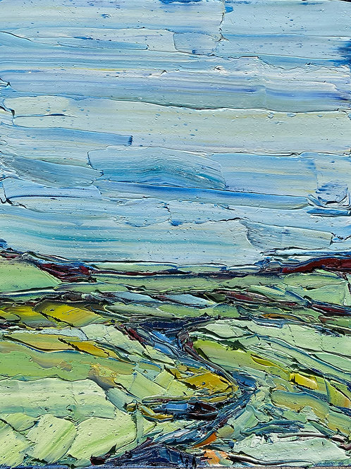 Rivers Horizon (Available for purchase at The Mystic Trinity Gallery only)