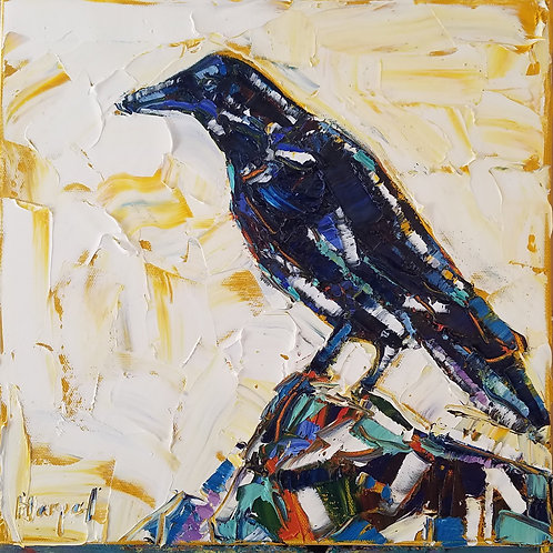 The Crow (Available for purchase at Mystic Trinity Gallery)
