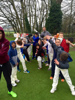 A wet but enjoyable first day of our 13th Love Cricket Course! Managed to get a few good games in an