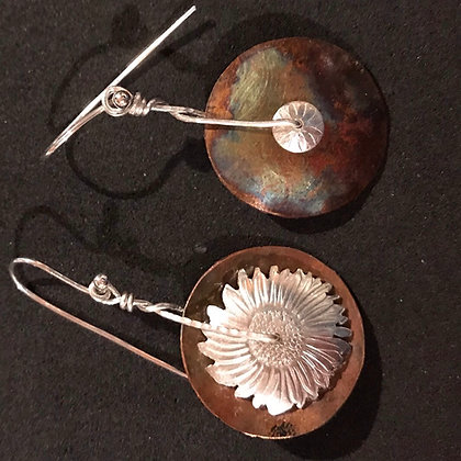 Copper disk daisy