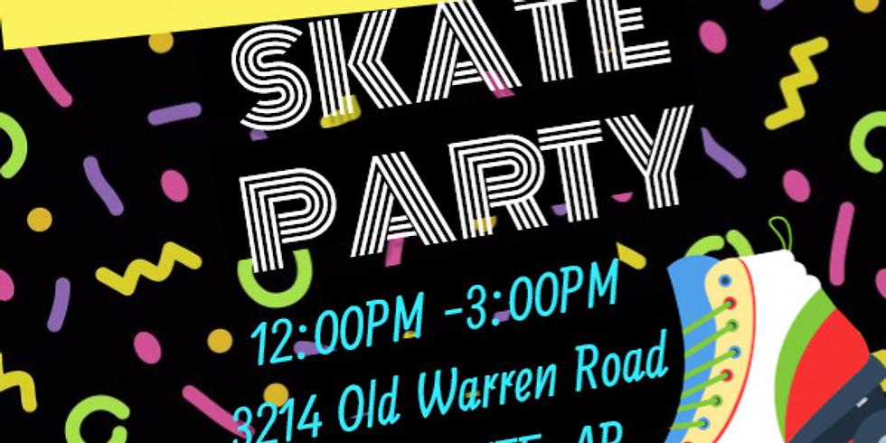 Girls & Good Grades Skate Party