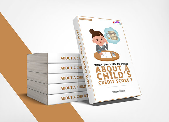Ebook: Do Not Wait to get your child's Credit on track!