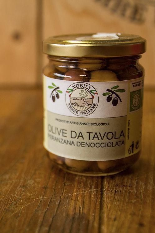 Olive da tavola Peranzana Denocciolata 100 g