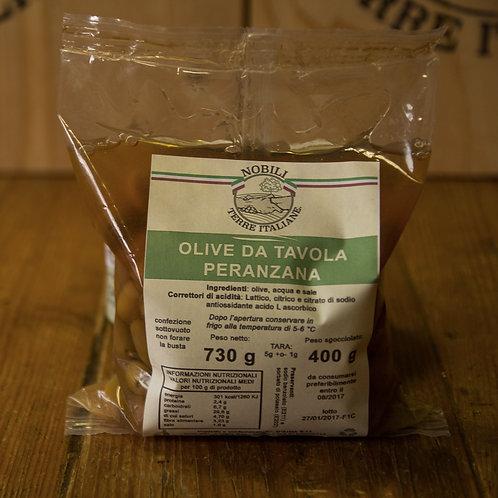 Olive da tavola Peranzana 400 g