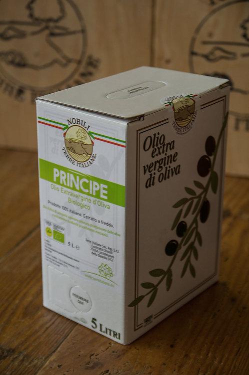 Olio Extravergine d'Oliva BIO PRINCIPE 5 l (BIB)