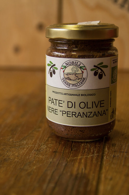 Patè di Olive Nere Peranzana 130 g