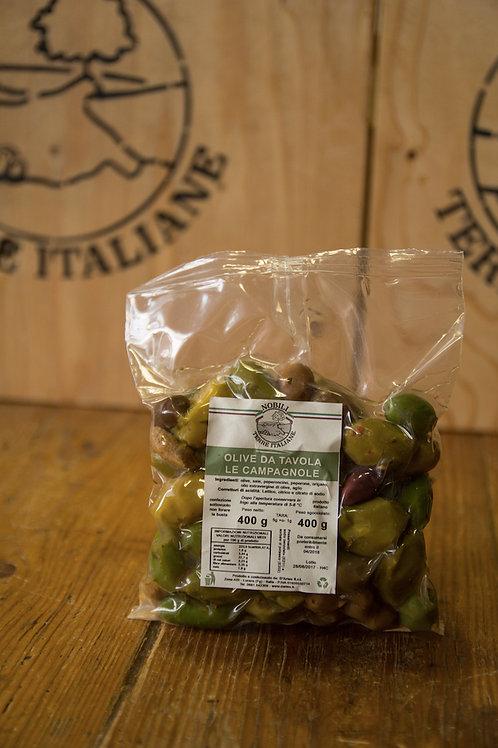 Olive da tavola Le Campagnole 400 g