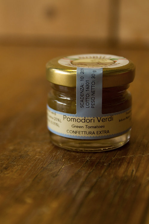 Confettura Mini Pomodori Verdi 30 g