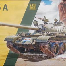 Italeri 1/72 T-55A box art