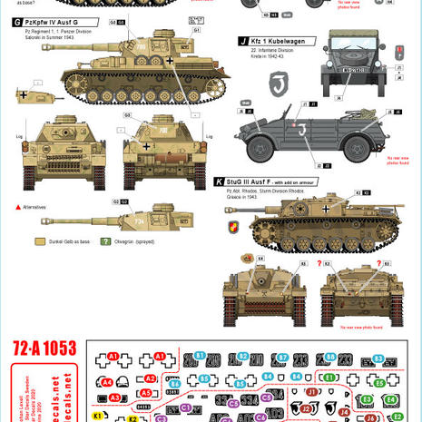 72-A 1053 Balkans, Germans