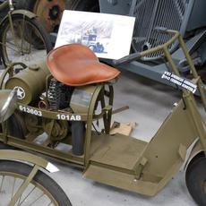 Cushman at History on Wheels Museum