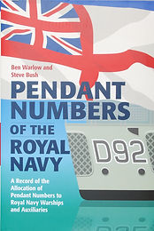 Pendant Numbers of the Royal Navy