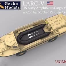 Gecko 1/35 LARC-V Modern version