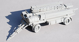 German Bridging Equipment Trailer