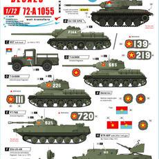 72-A 1055 NVA Tanks & AFVs