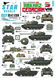 Abkhaz-Georgian War 1992-93 1/35 Decals