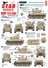 Israeli Armour Decal sets in 1/72