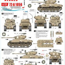 72-A 1056 M1 Super Sherman