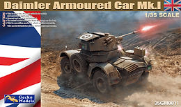 Daimler Mk 1 Armoured Car in 1/35