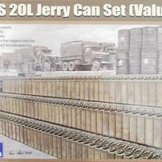 Gecko, US J20L Jerry Can Set, Box art