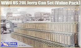 US 20 litre Jerry Cans (Value Pack) in 1/35
